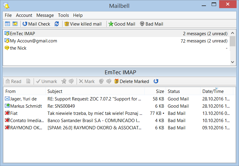 MailBell (Email Notify, Spam Blocker)