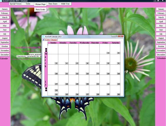 AcreSoft Calendar + Scheduler