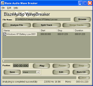 Blaze Audio Wave Breaker