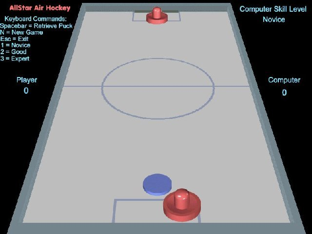 AllStar Air Hockey