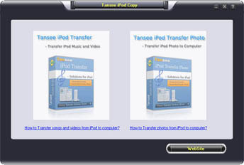 Tansee iPod Music & Video & Photo Backup