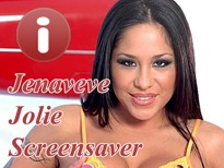 Jenaveve Jolie Adult Screensaver