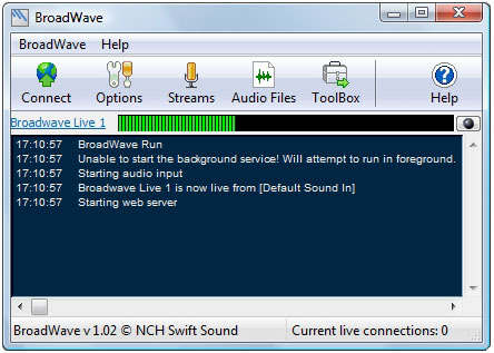 BroadWave Pro Streaming Audio Server