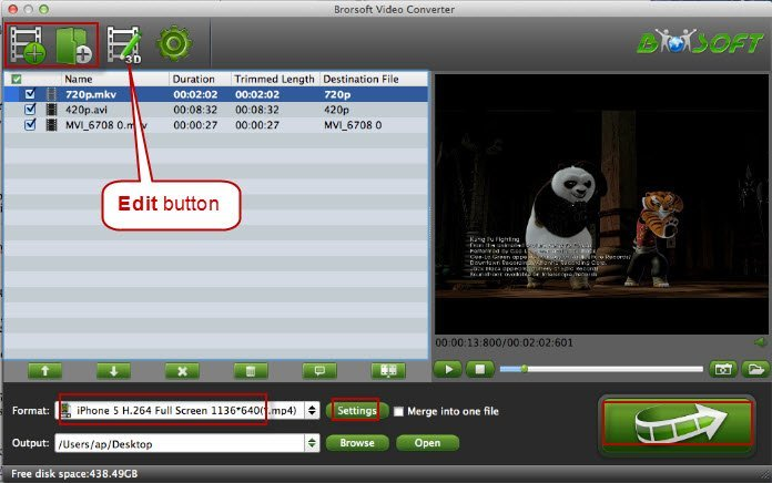 Brorsoft Video Converter for Mac