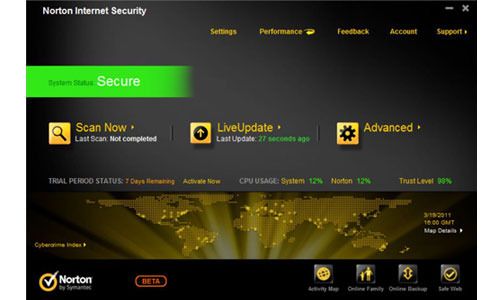 Norton Internet Security Beta