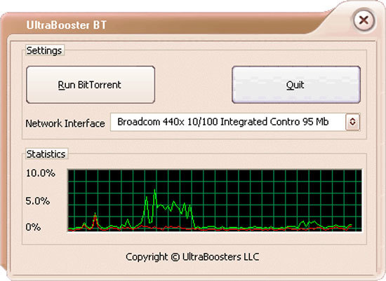 UltraBooster for BitTorrent
