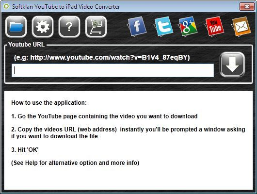 Softklan YouTube to iPad Converter