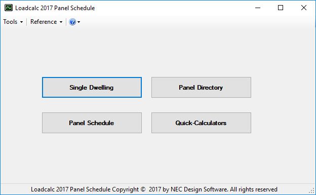 Loadcalc 2017 Panel Schedule