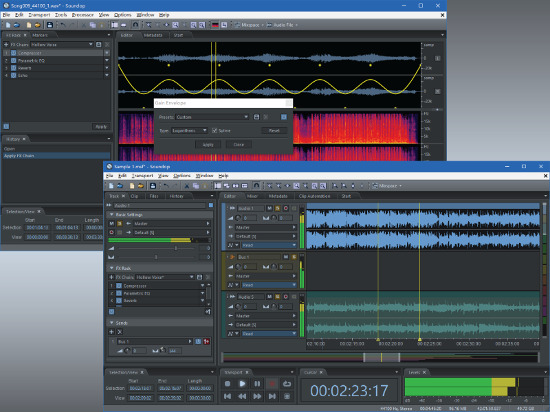 Soundop Audio Editor