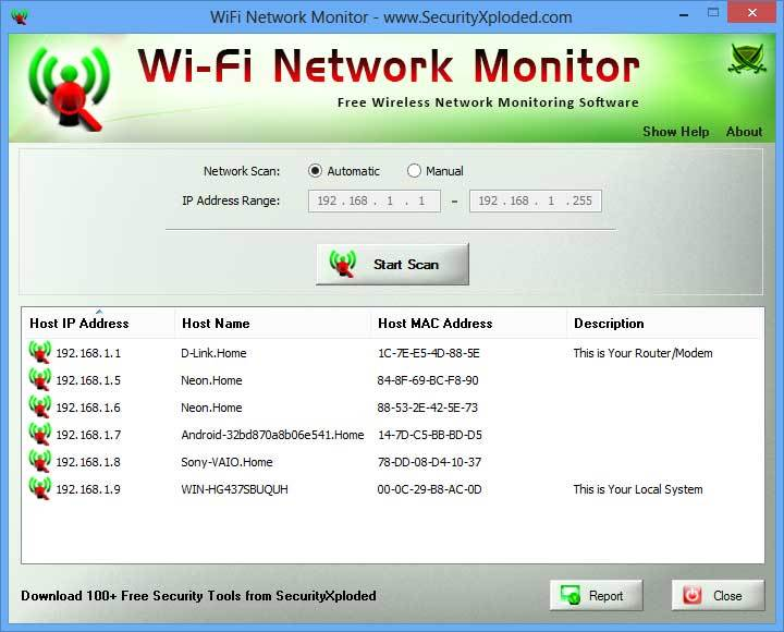 WiFi Network Monitor