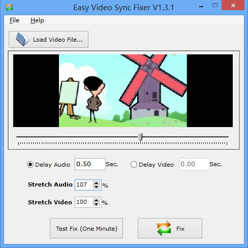 Easy Video Sync Fixer