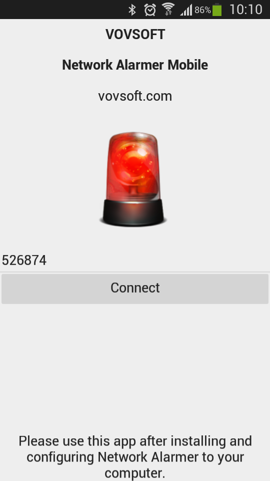 Network Alarmer Mobile