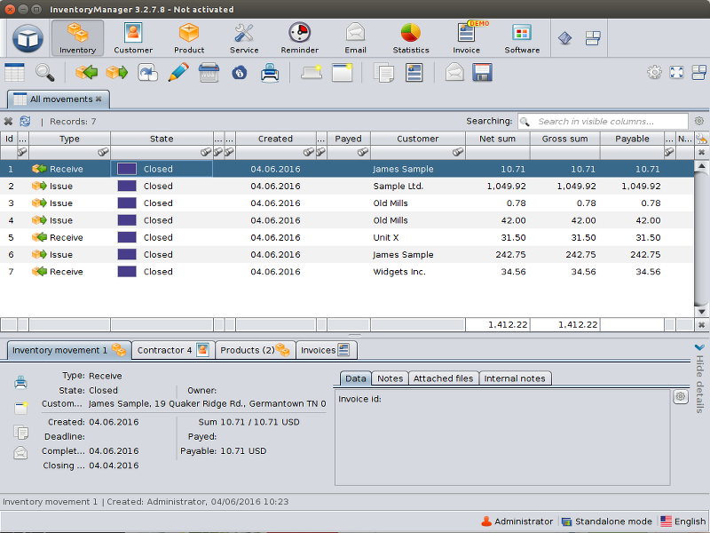 InventoryManager 3