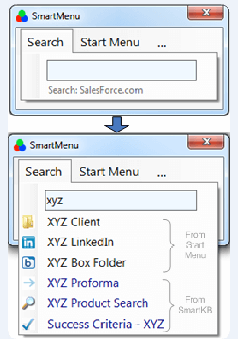 SmartMenu Enterprise Knowledge Sharing