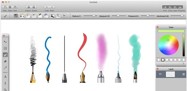 paint tool sai for mac with pen pressure