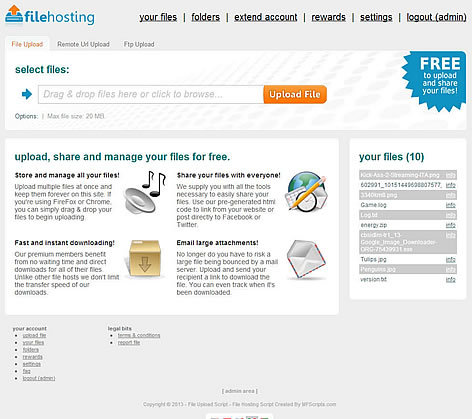 YetiShare - File Hosting Script Free