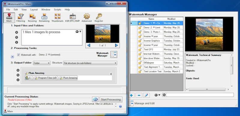 iWatermark Pro for Windows