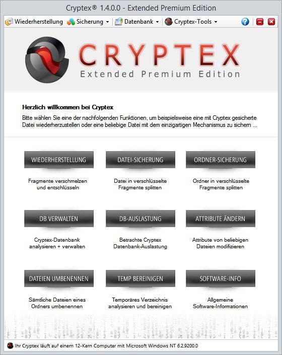 Cryptex Extended Premium Edition