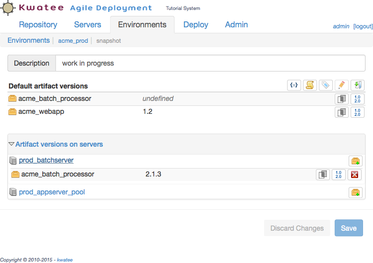Kwatee Agile Deployment for Linux + Mac
