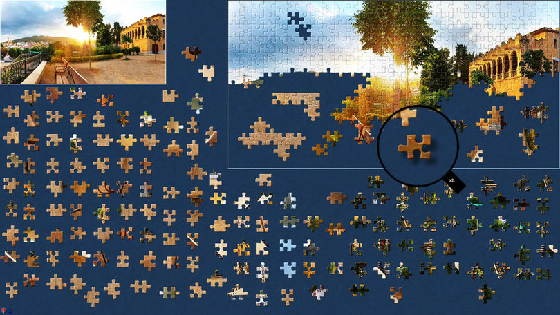 BrainsBreaker jigsaw puzzles for MAC