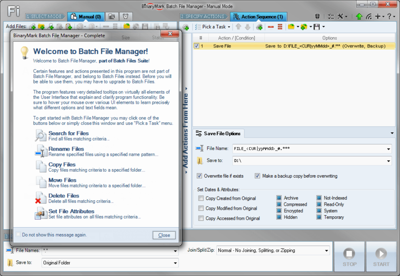 Batch File Manager