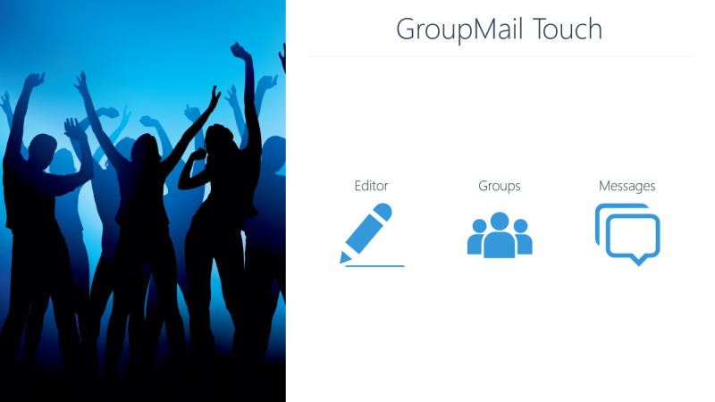 GroupMail Touch