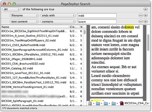 PageZephyr Search