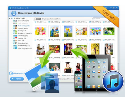 Data Recovery for iPhone on Windows