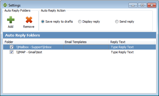Topalt Auto Reply for Outlook