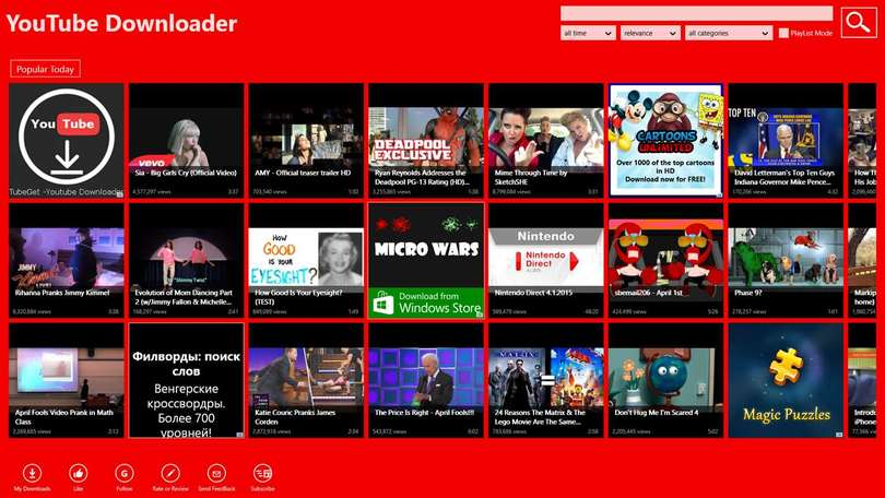 Free Instant Downloader for YouTube