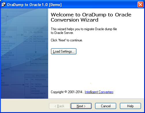 OraDump-to-Oracle