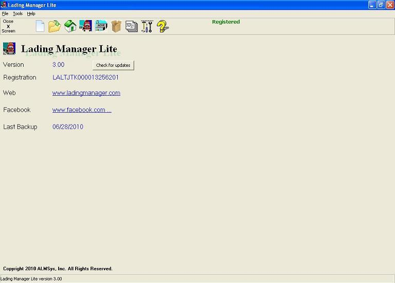 Lading Manager Lite