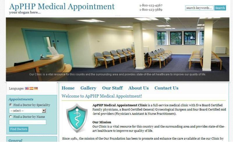 ApPHP Medical Appointment