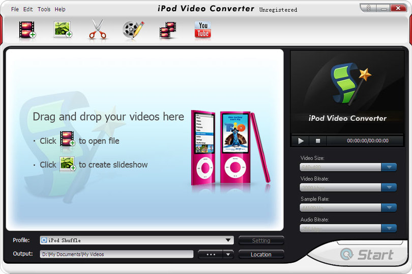 BlazeVideo iPod Video Converter