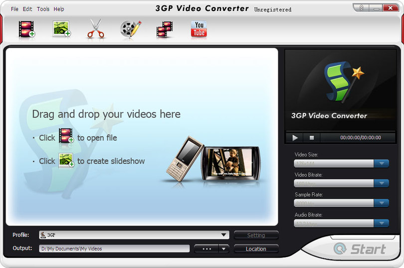 BlazeVideo 3GP Video Converter