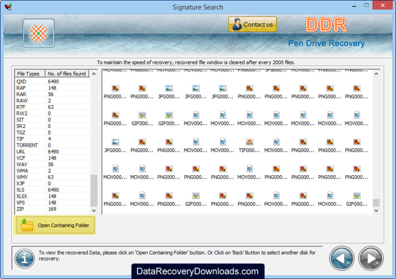 Pen Drive Data Recovery Application