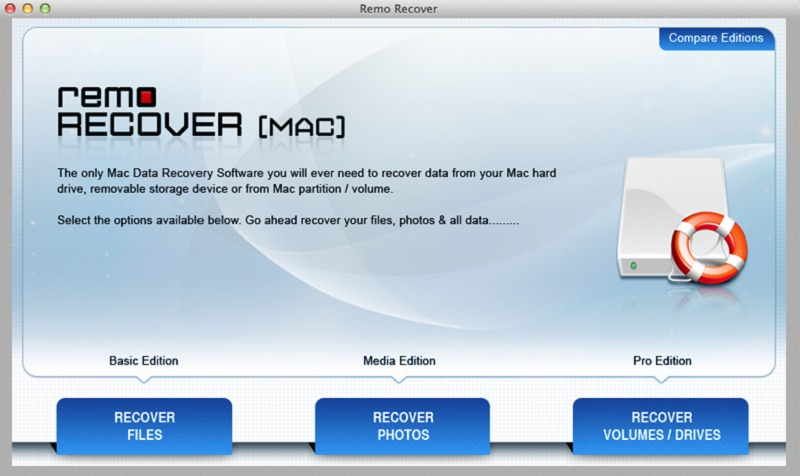 Remo Recover Media Edition Mac