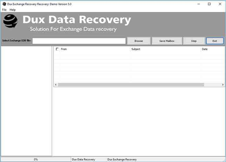 Exchange EDB to PST Recovery