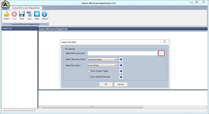 Aryson MS Access Database Recovery