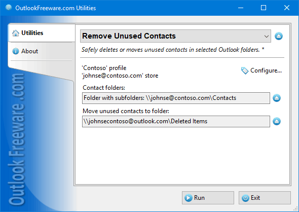 Remove Unused Contacts