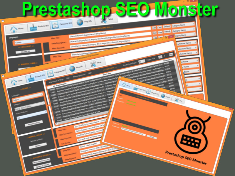 Prestashop SEO Monster