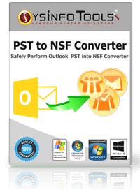 SysInfoTools PST to NSF Converter