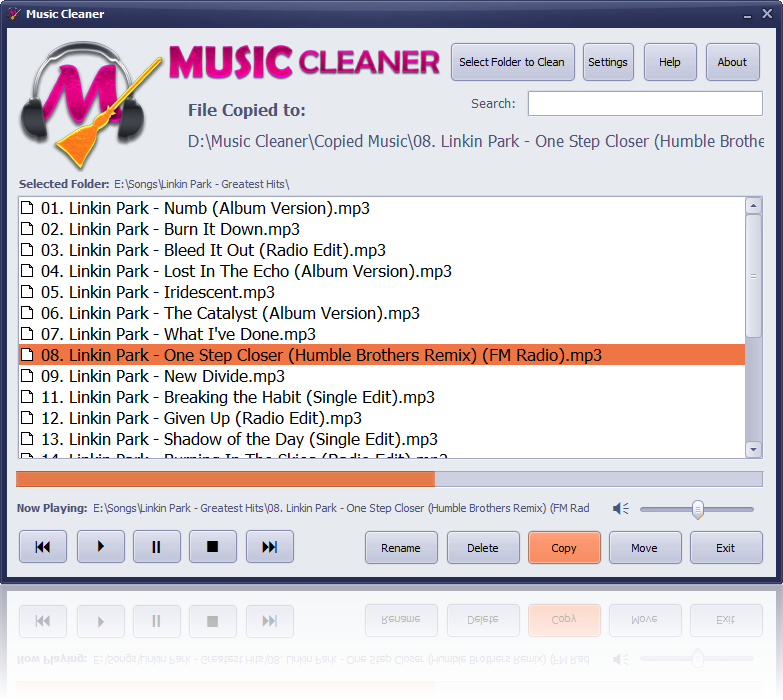 Music Cleaner