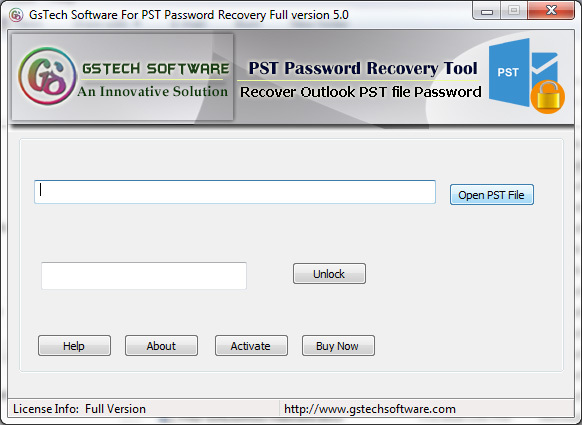 PST File Password Recovery