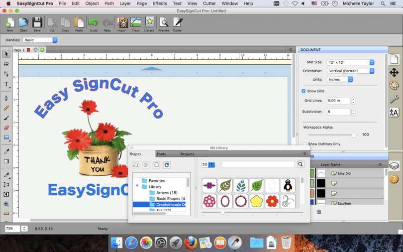 EasySignCut Pro for Mac