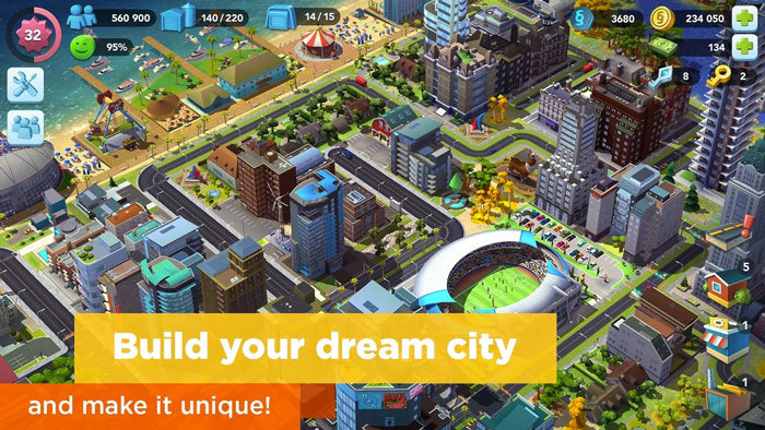 SimCity Buildit on PC