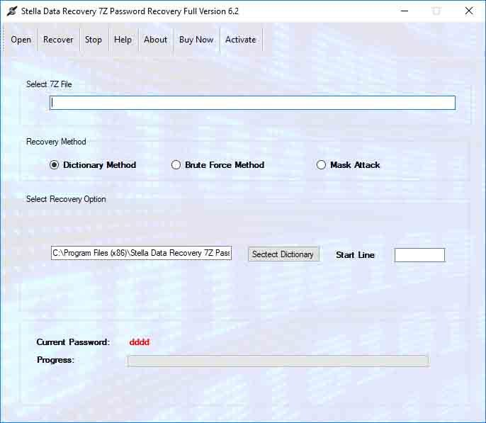 Recover 7z Archive File Password