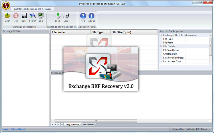 MS Exchange BKF Recovery
