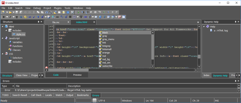 CodeLobster IDE for Linux