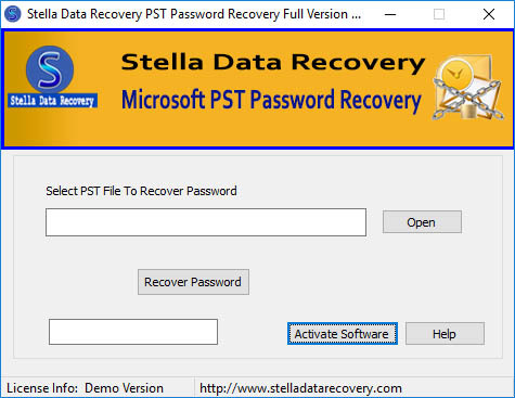 PST Password Cracker Software